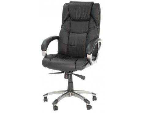 Alphason Northland High Back Leather Executive Chair in Black