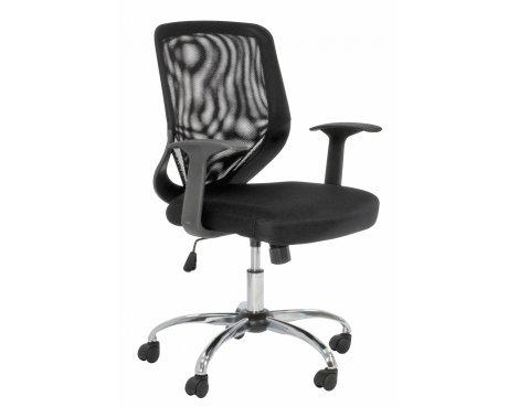 Alphason Atlanta Black Operator\'s Chair