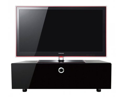Cubic 1000 Black TV Cabinet with BEAMTHRU