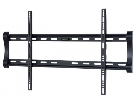 Black Universal Super Thin Fixed Wall Mount Bracket up to 60""