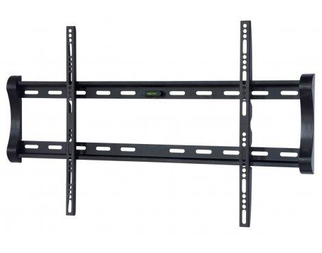 "UM122M Black Universal Super Thin Fixed Wall Mount Bracket up to 65\"""