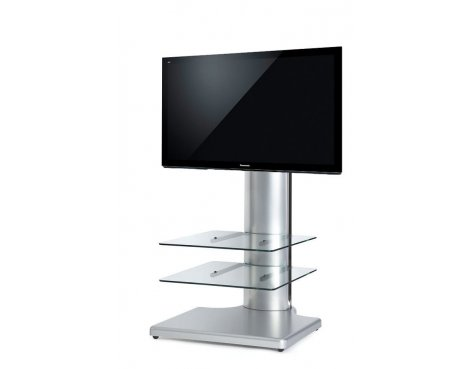 Origin II S2 Flat Panel TV Stand In Silver