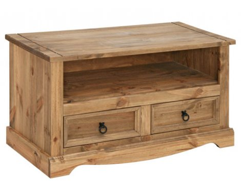 "Core Products CR910 Classic Corona Medium TV Unit for up to 42"" TVs - Rustic Pine"
