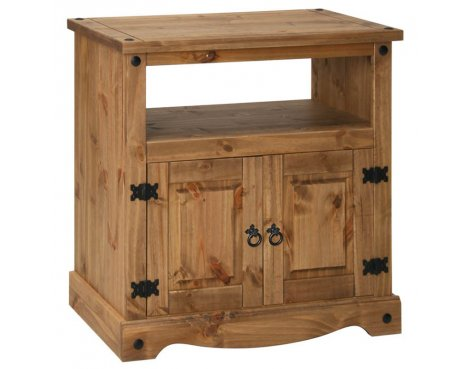 "Core Products CR909 Classic Corona Small TV Unit For up to 42"" TVs - Rustic Pine"