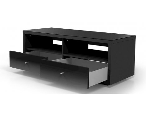 Just Racks JRA121 Black TV Cabinet with Drawers