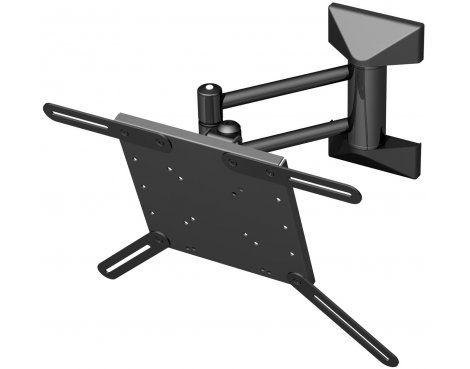 """Black Cantilever Wall Mount for 21\"""" to 37\"""" TVs"""