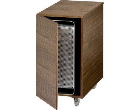 Sequel Mobile CPU Cabinet in Natural Walnut