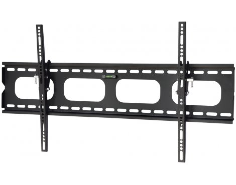 "UM118L Black Universal Slim Tilting Wall Mount for up to 85"" TVs"