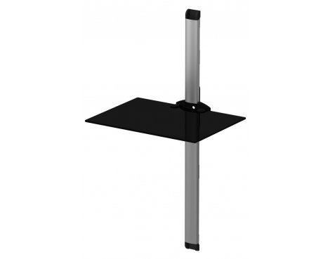 Sonorous 1 Shelf Support System Black and Silver