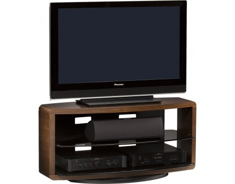"BDI Chocolate Stained Walnut TV Unit For Up To 50"" TVs"