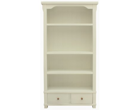 Hampton Large Bookcase with Two Drawers