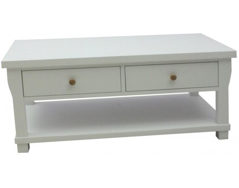 Hampton Four Drawer Coffee Table
