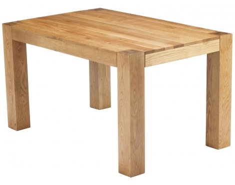 Chunky Oak Dining Table 1.4m