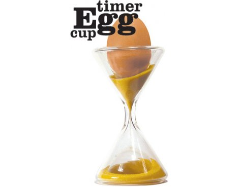 Combined Egg Cup & Timer