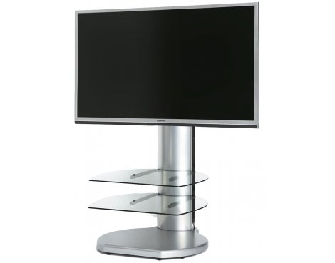 Origin II S3 Silver Cantilever TV Stand