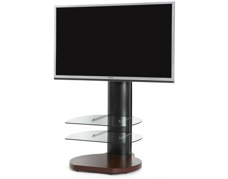 Origin II S4 Flat Panel Cantilever TV Stand In Walnut