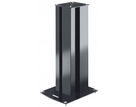 Pair of Black World Mounts Speaker Stands Height 610mm