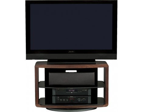 "BDI Chocolate Walnut TV Unit Up To 42"" TVs"