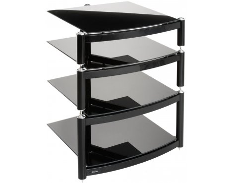 Equinox Celebration A.R.C Black 4 Shelf R.S HiFi Stand