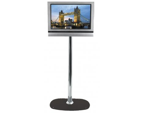 B-Tech Medium Floor Stand with 1.1m pole for TVs up to 32""
