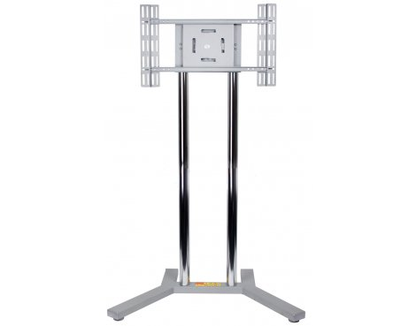 B-Tech Silver Floor Stand For TVs up to 50""