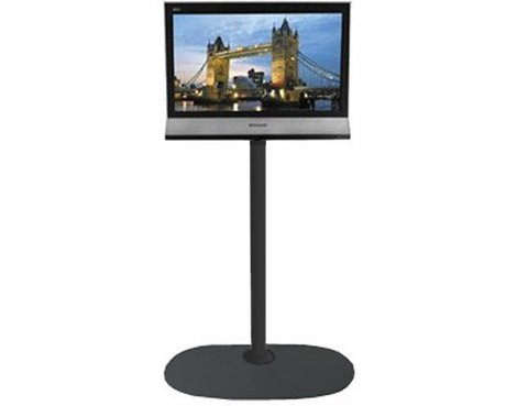 B-Tech Small Floor Stand with 1.5m pole for TVs up to 26""