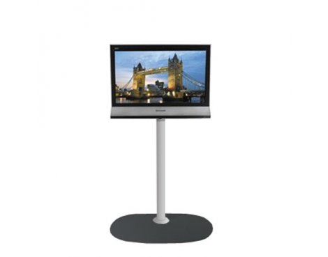 B-Tech Small Floor Stand with 1.1m pole for TVs up to 26""