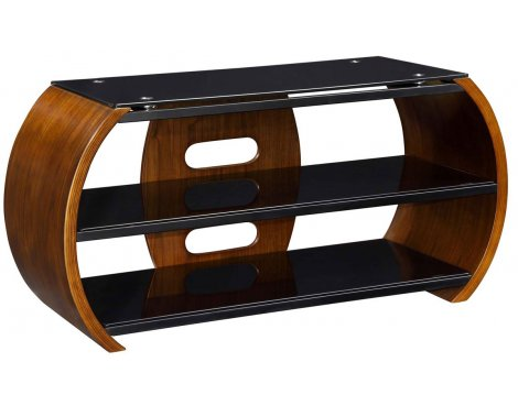 Jual Florence Walnut Curve TV Stand