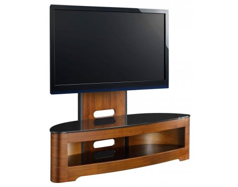 Jual Florence Cantilever Walnut TV Stand