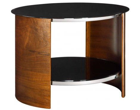 Jual JF303 Round Lamp Table in Walnut