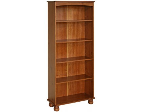 Core Products Dovedale Stained Pine 5 Shelf Bookcase
