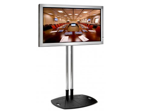 """Premier Mounts Floor Stand with Tilt for 37\"""" to 63\"""" TVs 60\"""" Pole"""