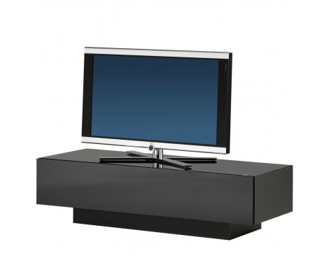 Spectral Brick Luxury Black TV and AV Cabinet