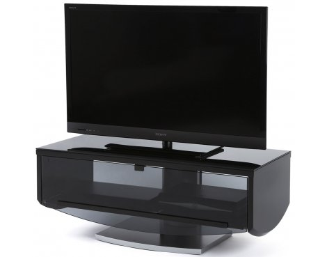 Off The Wall Eclipse Black TV Cabinet for TVs up to 52""