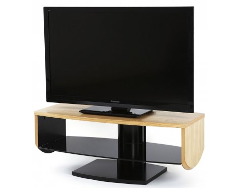 """Off The Wall Horizon Oak TV Stand for TVs up to 52\"""""""