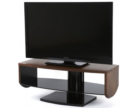 Off The Wall Horizon Walnut TV Stand for TVs up to 52""