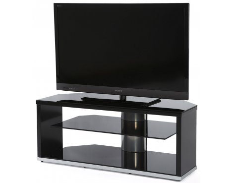 Off The Wall Mono Black TV Stand for TVs up to 52""