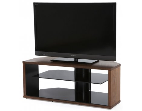 Off The Wall Mono Walnut TV Stand for TVs up to 52""