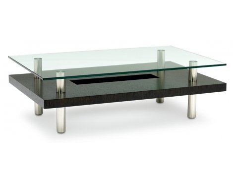BDI Hokkaido Espresso Stained Oak Coffee Table