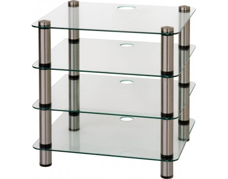 Optimum Prelude Slimline Four Shelf Hifi Stand