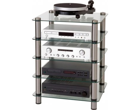 Optimum Prelude Five Shelf Hifi Stand