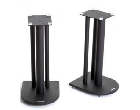 Pair of Speaker Stands in Black - Height 50cm
