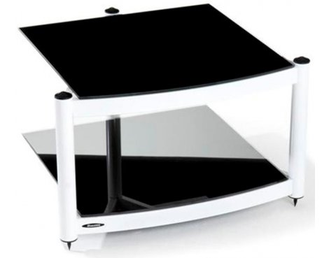 Equinox White 2 Shelf R.S HiFi Stand