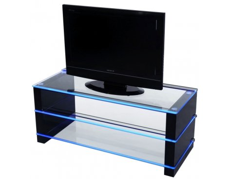 """Demagio TV Stand With Illuminating Glass For Up To 50\"""" TVs"""
