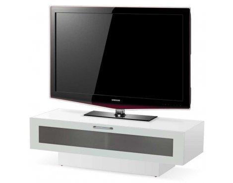 "High Gloss White TV Stand For Up To 50"" TVs"
