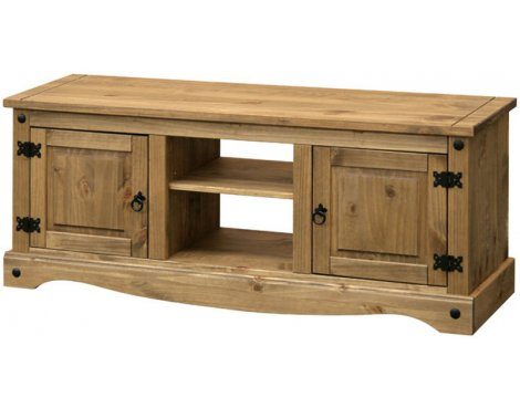 "Core Products CR912 Classic Corona Large TV Unit for up to 60"" TVs - Rustic Pine"