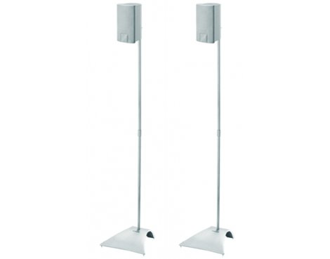 Vogel\'s Pair of Silver Speaker Stands