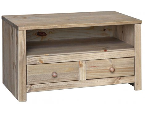 Core Hacienda Waxed Pine Cabinet for up to 37""