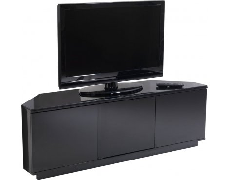 """UK-CF Black Corner TV Stand for up to 60\"""""""