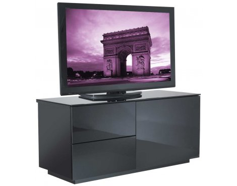 UK-CF High Gloss Black TV Cabinet for up to 50""